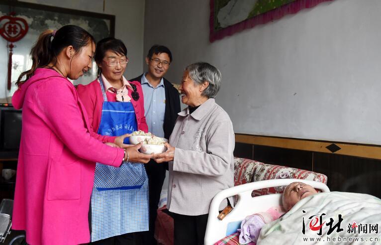 重阳节期间河北各地开展多种活动弘扬尊老爱老优良传统