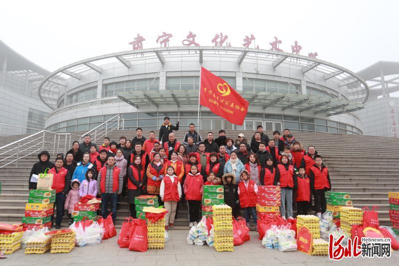 沧州肃宁爱心人士为179个困难家庭送温暖