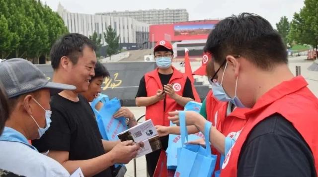"""廊坊三河:开展""""三河有礼 文明健康"""" 志愿服务活动"""